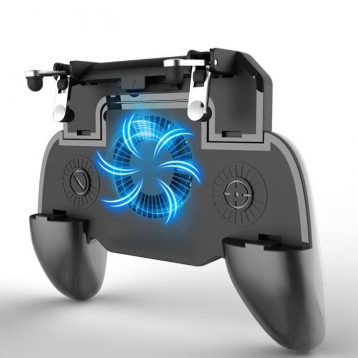 Tay cầm chơi game tích hợp quạt tản nhiệt và pin sạc dự phòng Promax WP10W (Pin 4000Mah)