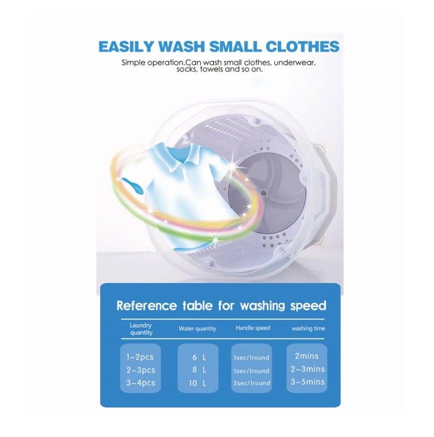 Máy giặt mini quay tay không dùng điện Promax Washing Quick