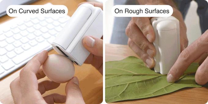 Máy in mini cầm tay in trên nhiều chất liệu PrintPods, khổ in 26mm, mực bền