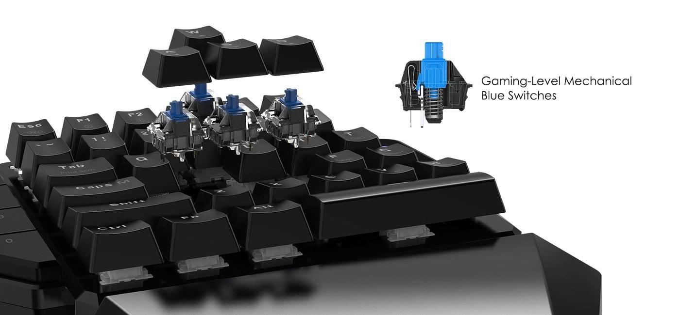Mua bàn phím cơ một tay GameSir GK100 giá rẻ