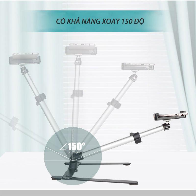 Giá đỡ điện thoại đa năng xoay 360 độ hỗ trợ chụp ảnh, quay video, livestream Promax Puluz MCP0093