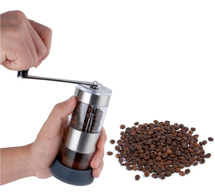 Máy xay hạt cà phê cầm tay mini Aturos 2 trong 1 ZX-A75