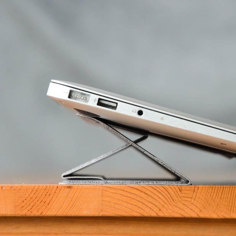 Dock tản nhiệt giá đỡ gấp gọn MOFT Stand cho Laptop/ Macbook MF1 (Màu xám)