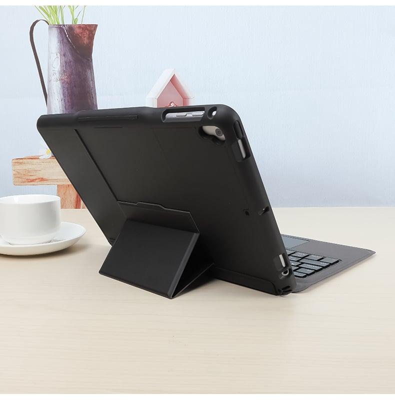 Bàn phím Bluetooth kèm bao da có Touchpad cho iPad Pro 11/ iPad Air 4 2020/ iPad 10.9 inches Aturos T207