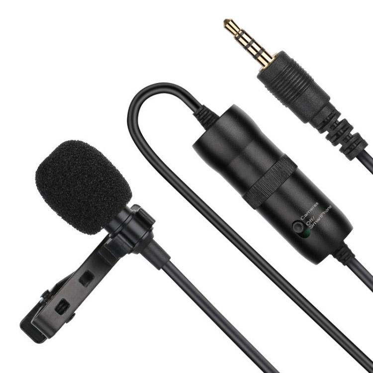 Bộ Microphone thu âm chuyên nghiệp đầu Jack 3.5mm Promax Puluz PU427