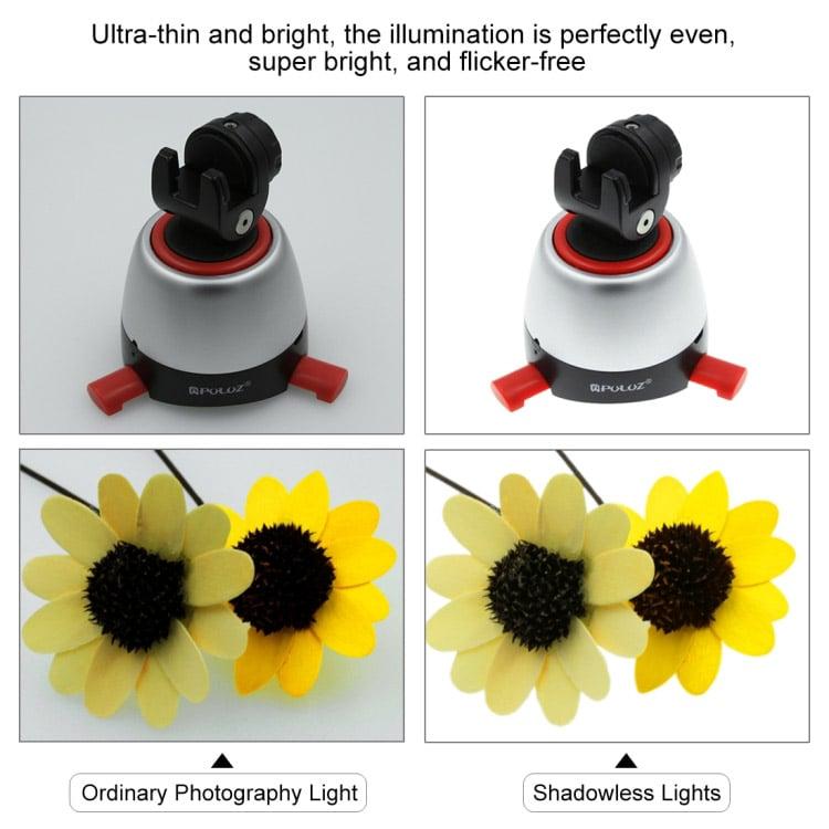 Tấm đèn LED điều chỉnh sáng 1200LM 34.7cm x 34.7cm x 34.7 cm Promax Puluz PU5138EU
