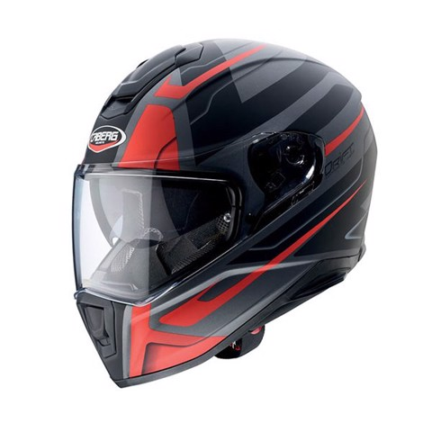 Caberg Drift in Shadow black/red design