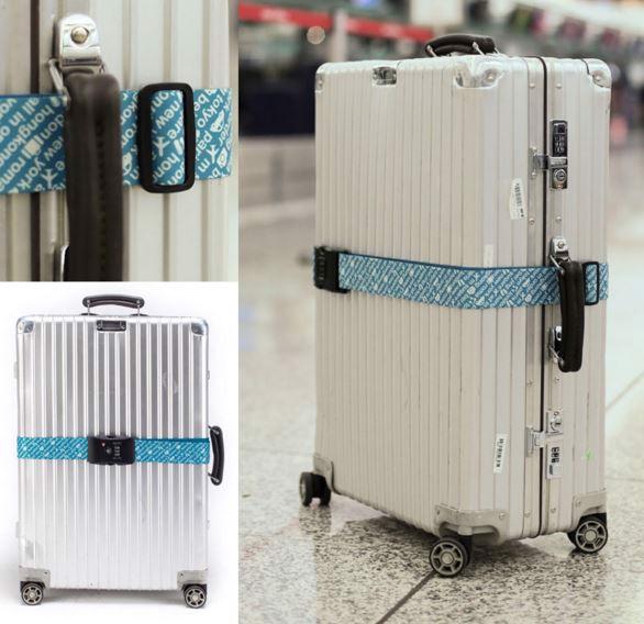 dây đai vali khoá số bảo vệ hành lý an toàn