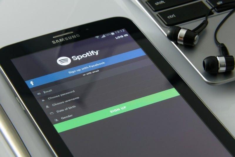 Ứng dụng nghe nhạc trực tuyến Spotify do người Thụy Điển phát minh