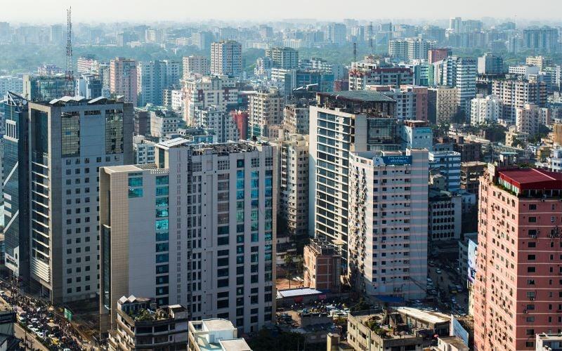 Thủ đô Dhaka sầm uất, phát triển