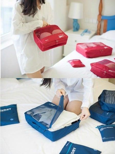 túi đựng quần áo và đồ lót đi du lịch