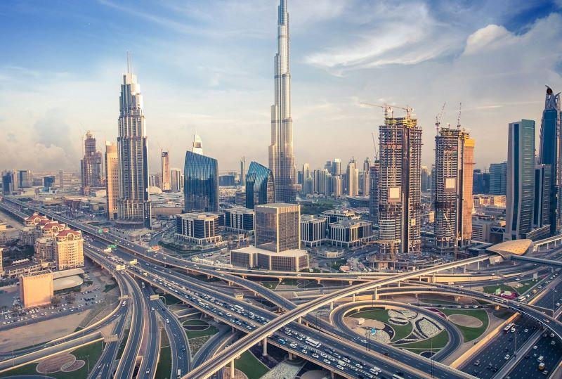 Tiểu vương quốc Dubai phát triển, nhộn nhịp