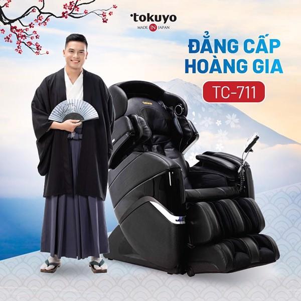 Ghế massage Tokuyo TC- 711 - Đẳng cấp hoàng gia