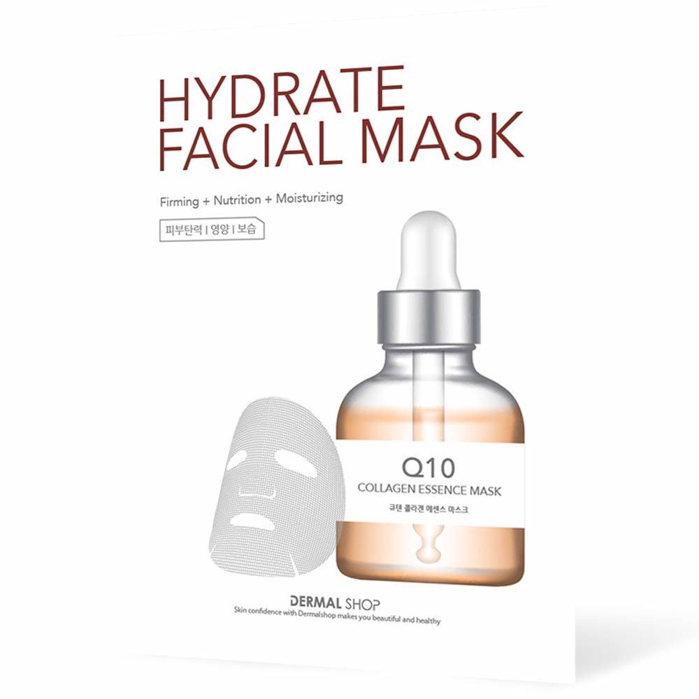 Dermal Hydrate Facial Mask Q10