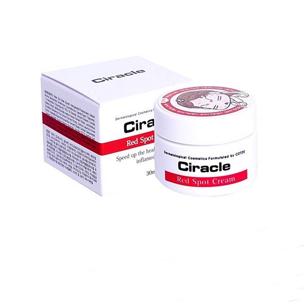 review ciracle red spot cream
