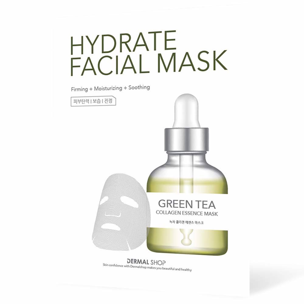 Green Tea Collagen Essence Mask