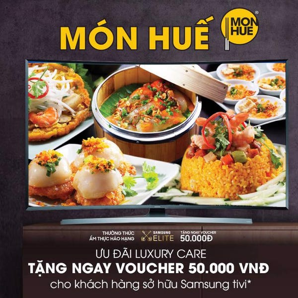 50.000VND VOUCHER FOR SAMSUNG CUSTOMERS
