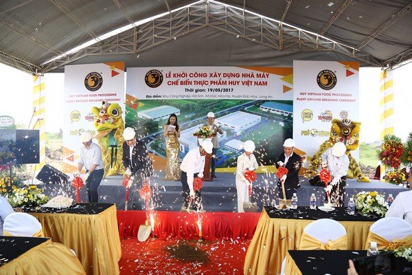 HUY VIETNAM FOOD PROCESSING PLANT GROUND BREAKING CEREMONY