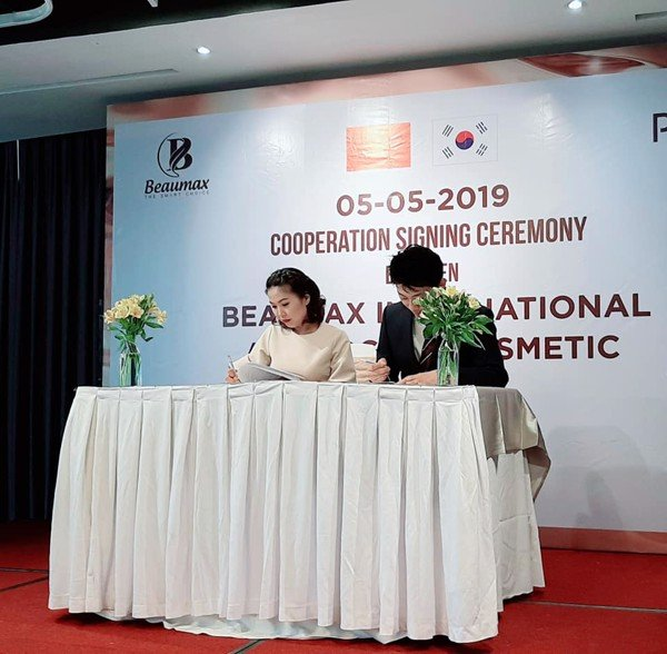 Cooperation Signing Ceremony BEAUMAX - POGINO