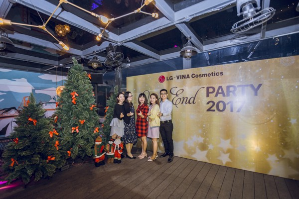 Tiệc Year End Party LG 27.12.2017