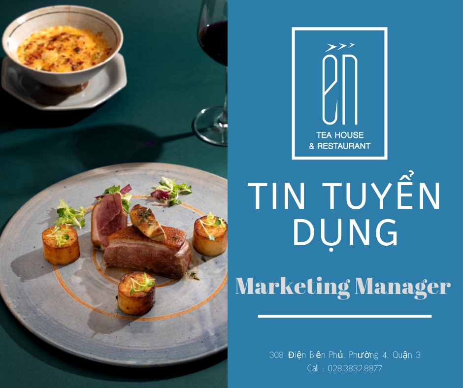 TIN TUYỂN DỤNG - Marketing Manager