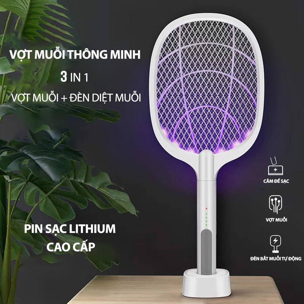 Vợt Bắt Muỗi Kiêm Đèn Muỗi Thông Minh 3in1 Electric Mosquito Swattter –  Nguồn Hàng Sỉ - Chuyên Sĩ
