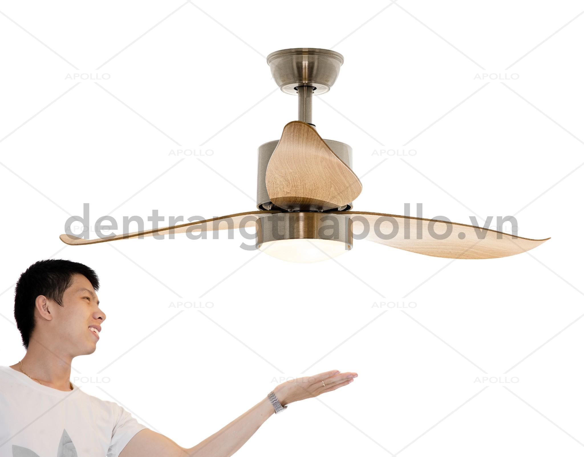 quạt trần đèn trang trí đẹp