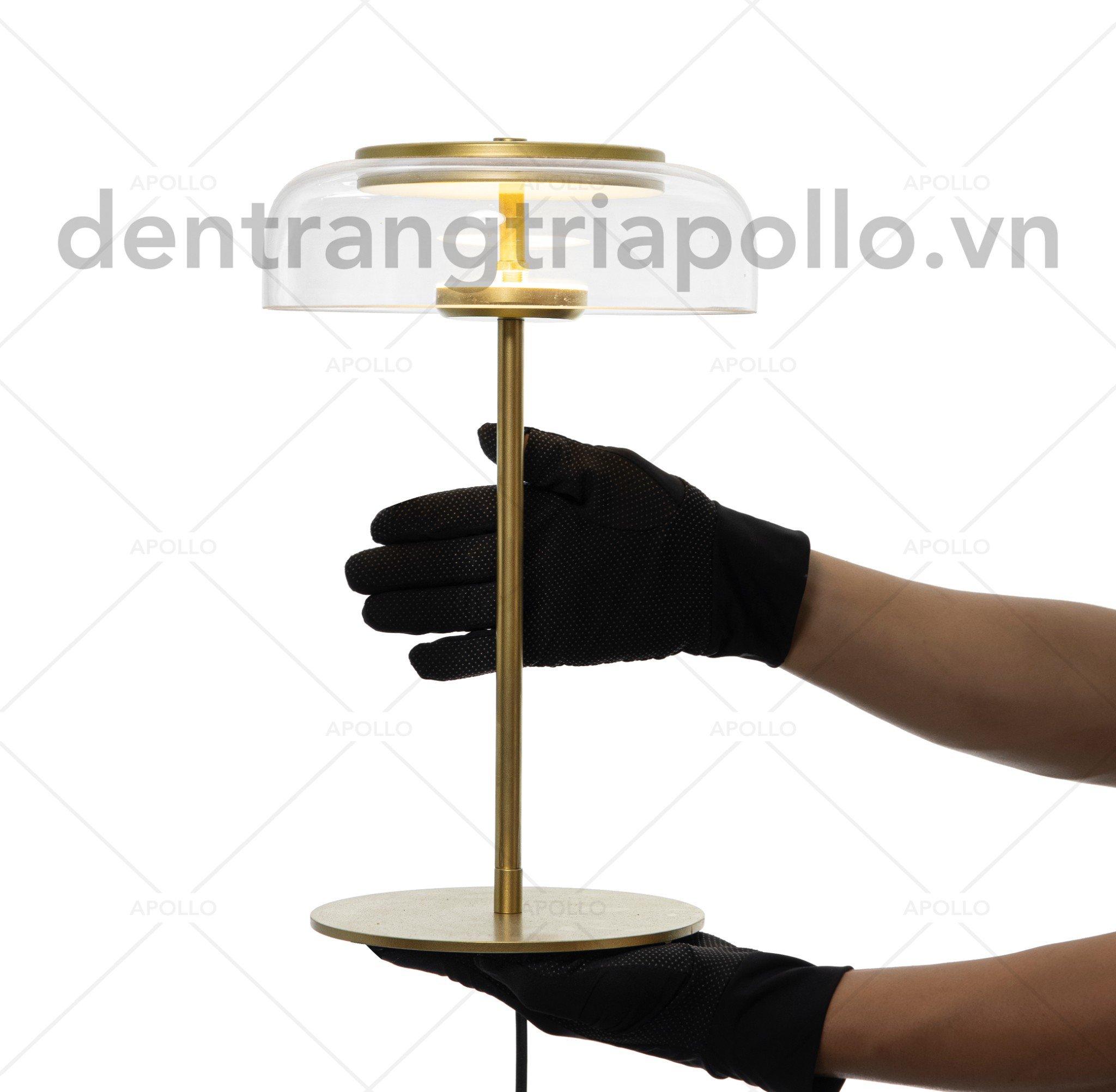 Đèn bàn thủy tinh Decor cao cấp