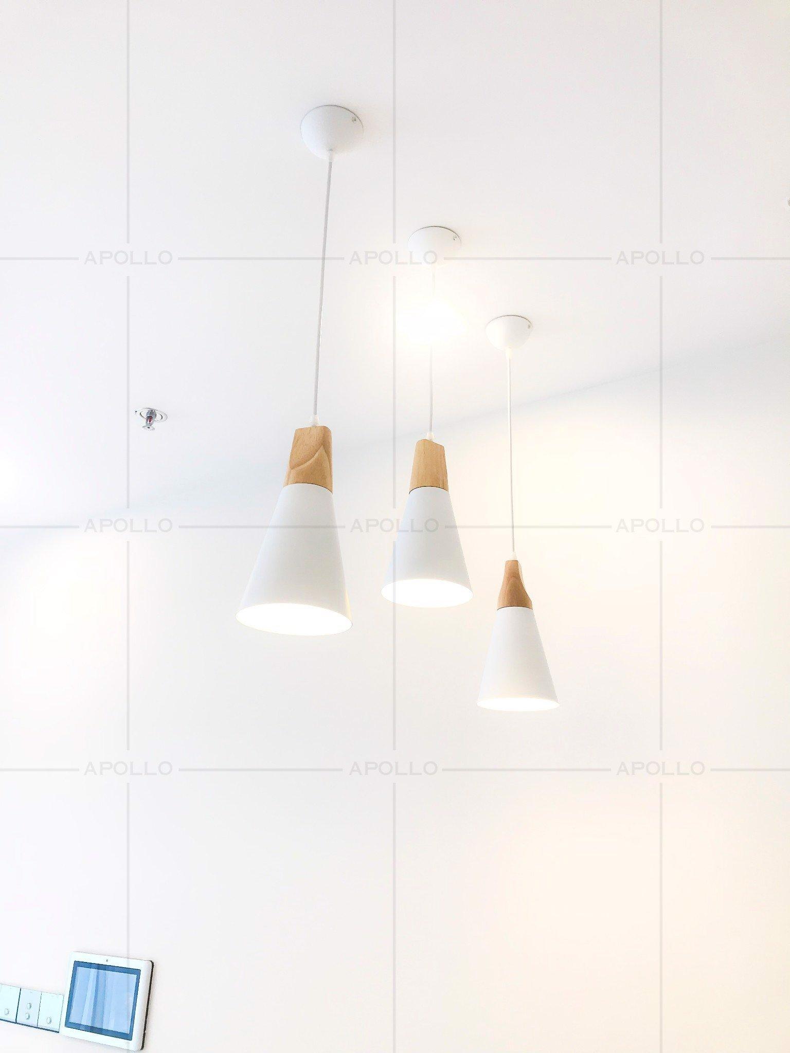 đèn thả bàn ăn đẹp đơn giản