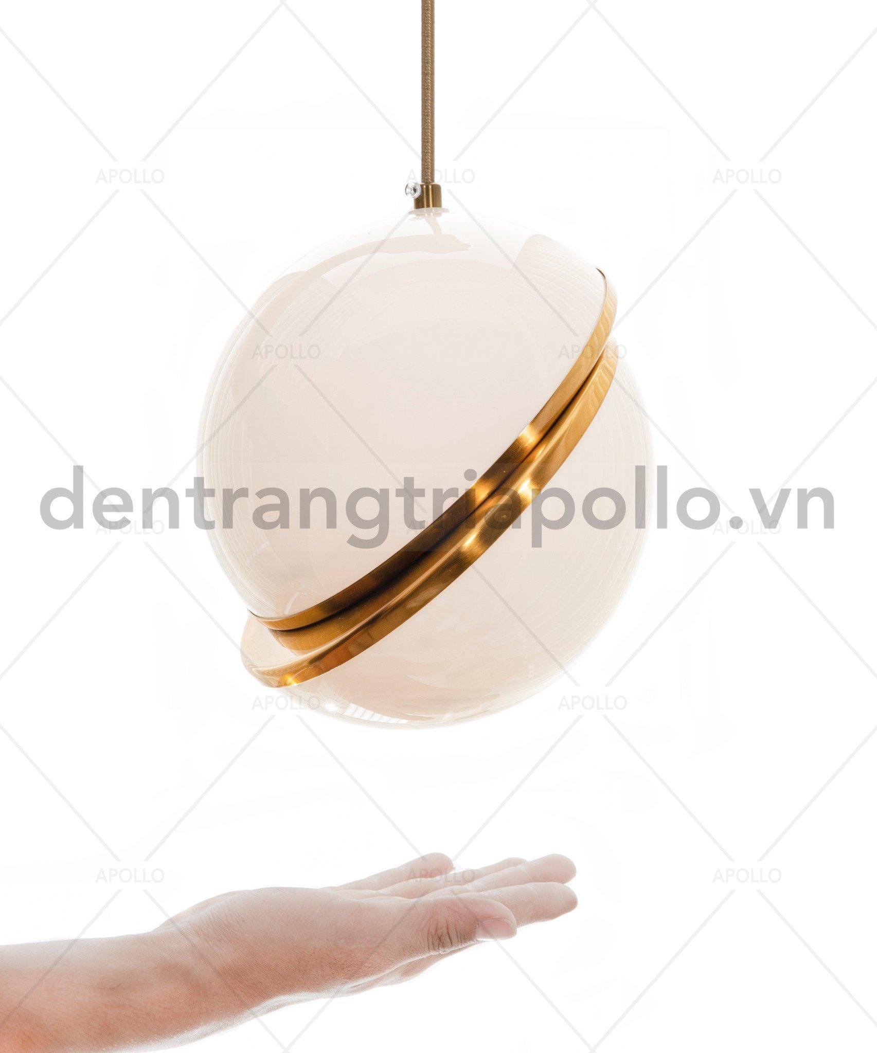 Đèn thả quả cầu hiện đại