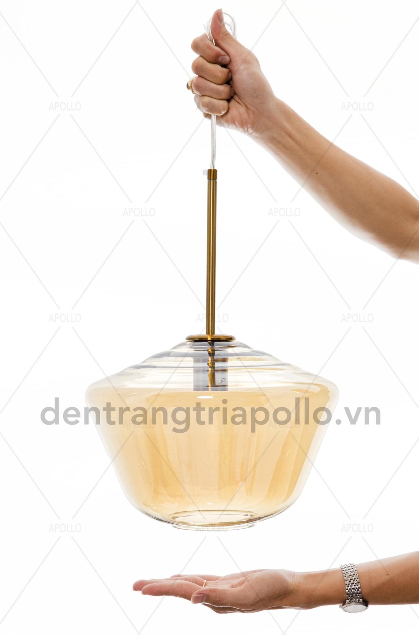 đèn thả thủy tinh đẹp