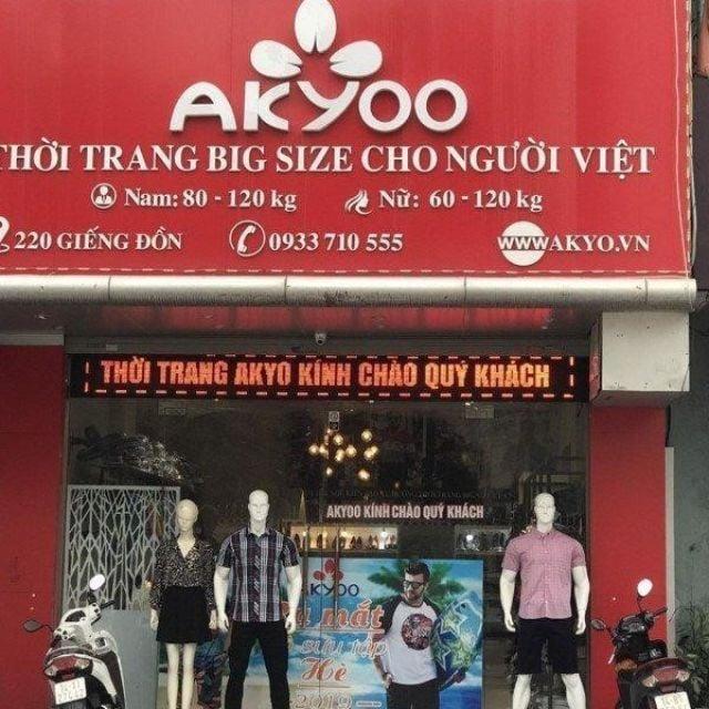 cửa hàng thời trang nam Big size Akyoo 5