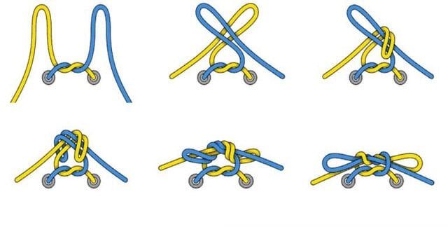 Cách cột dây giày đá bóng 2