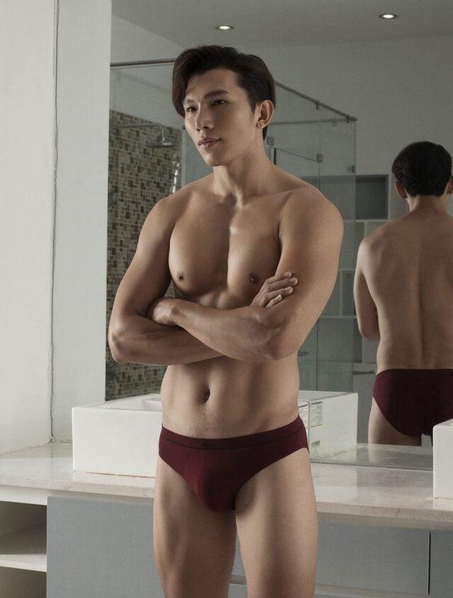 cách mặc quần lót nam