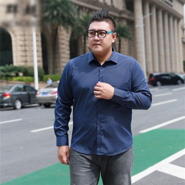 4 Cách chọn áo sơ mi nam cho người béo bụng THON GỌN – AKYOO
