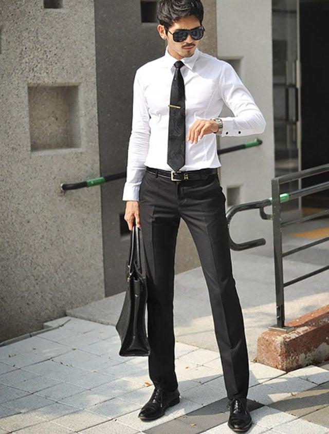chọn cà vạt không quá ngắn