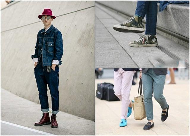 Giày lười và boots