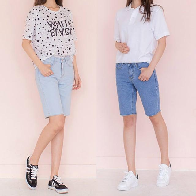 Cách phối đồ với quần jean lửng