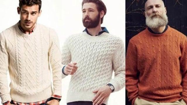 Cách phối đồ với áo len Aran