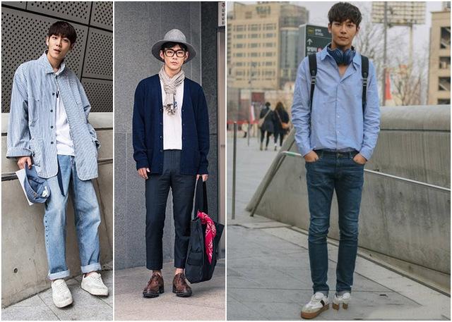 Trang phục nam sinh Hàn Quốc