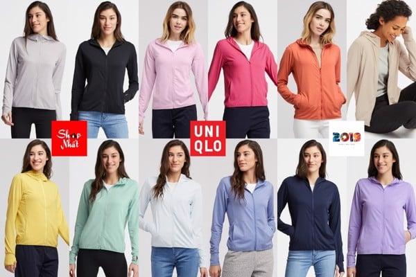 10 dấu hiệu nhận biết áo chống nắng airism Uniqlo chính hãng 2019