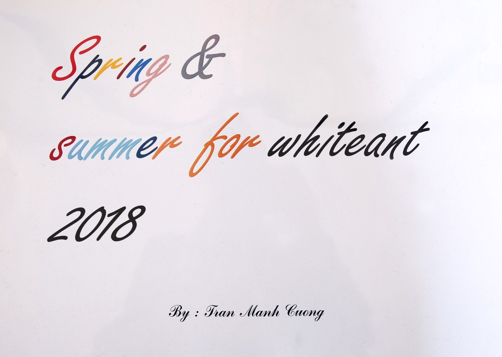 """Màu sắc"" White Ant  Hè 2018:   Summer For White Ant 2018"
