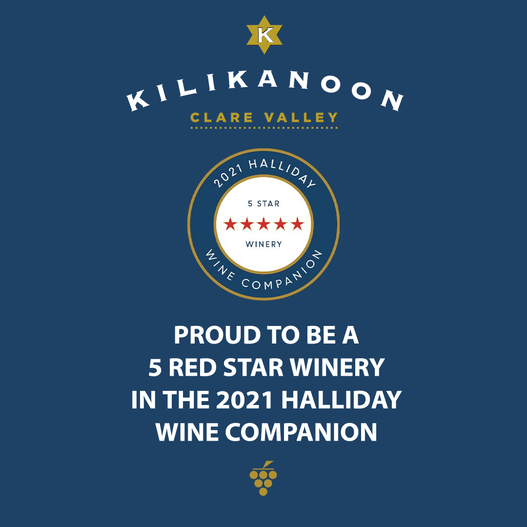 Kilikanoon Awarded 5 Red Stars Among 3.2% Wineries In Australia