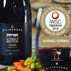 Kilikanoon's Oracle Shiraz crowned best in the world at IWSC 2018