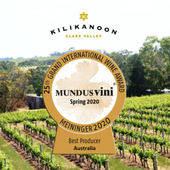 Mundus Vini Best Australian Producer Of The Year... Again!