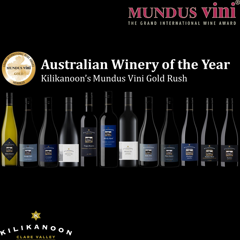 Kilikanoon has another Mundus Vini Gold Rush