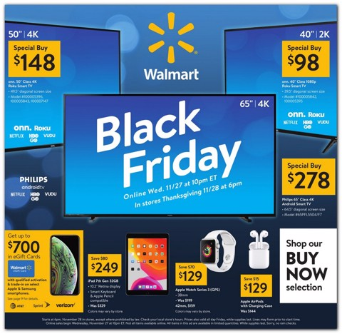 Tổng hợp (Live!) Walmart Black Friday Deals!