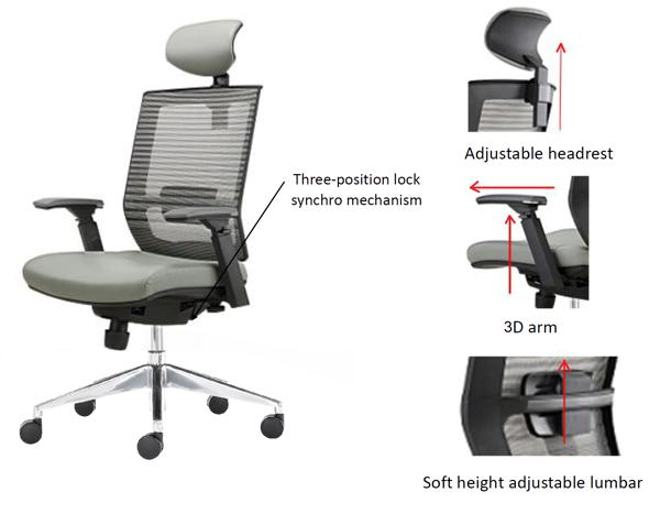 ghế ergonomic