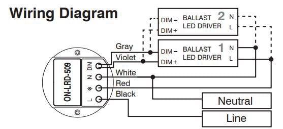 sơ đồ đấu nối cảm biến IR-TEC