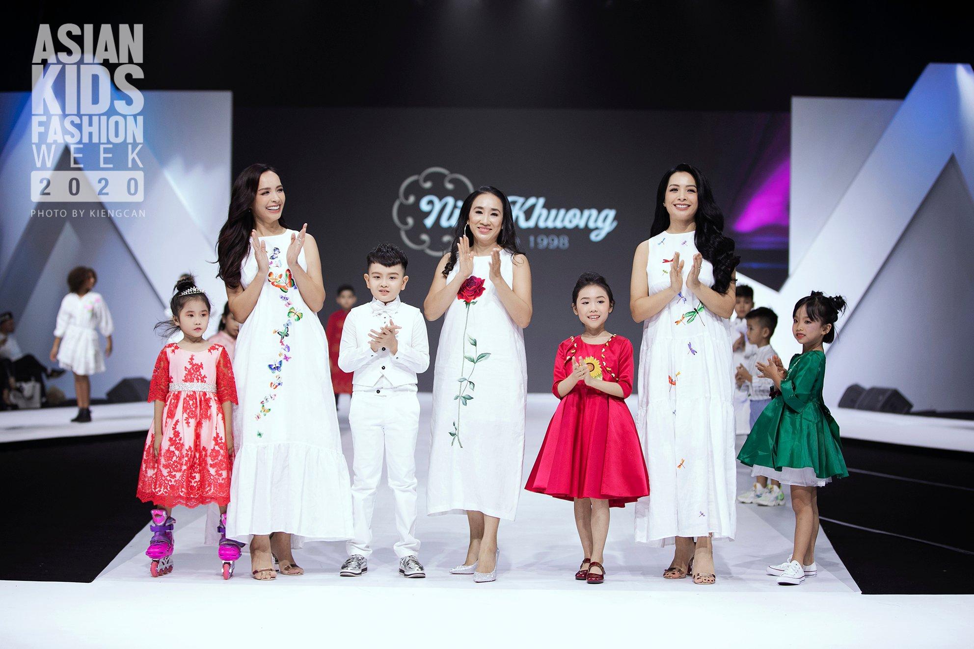 Asian Kids Fashion Week 2020', khởi động bữa tiệc thời trang đầy màu sắc